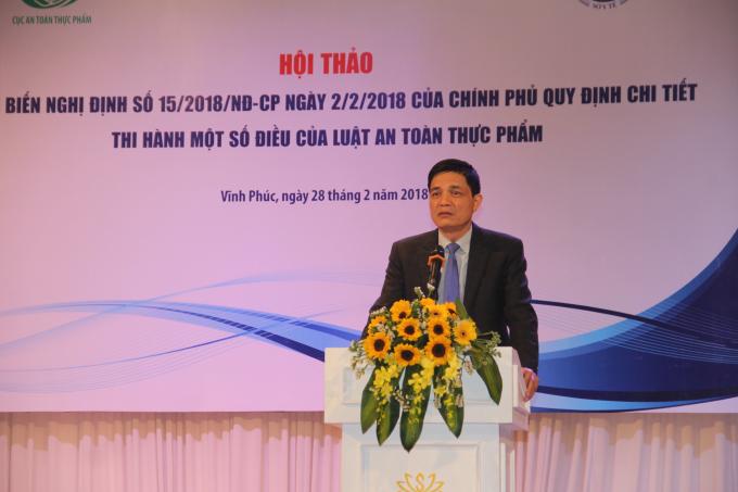 PGS.TS. Nguyễn Thanh Phong, Cục trưởng Cục ATTP.