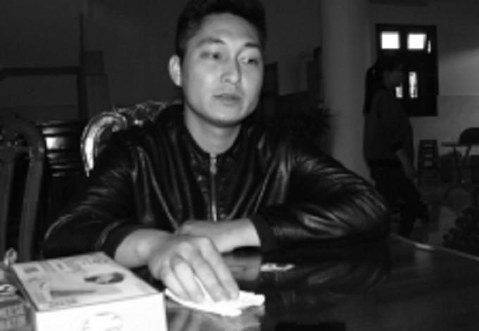 Anh Nguyễn Tiến Hùng, quản lý khai thác khách sạn Vũ Hiệp buồn rầu sau sự cố.