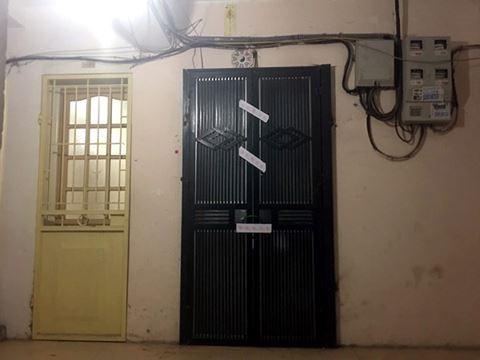 Khu tập thể và căn hộ - nơi xảy ra vụ án.