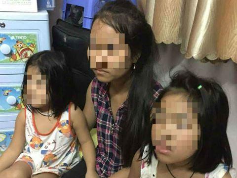2 bé gái bị bắt cóc tống tiền đã được lực lượng công an giải cứu an toàn.