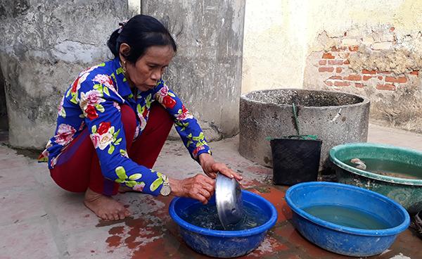 Mẹ Cường sống một mình ở quê Thanh Hóa.