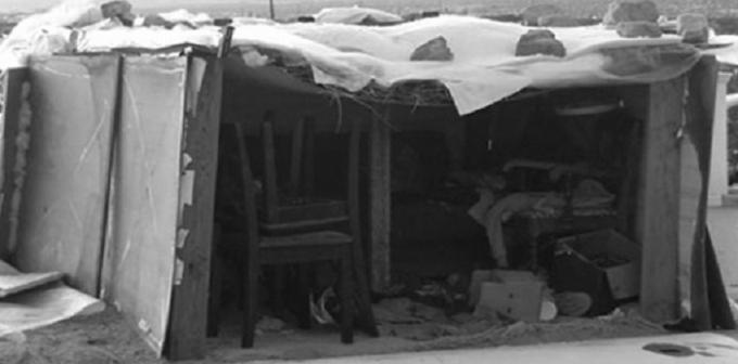 Nơi ở của ba đứa trẻ sống trong bốn năm qua.