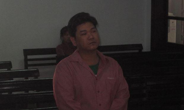 Bị cáo Trần Quốc Dũng tại tòa. (Ảnh báo CAND)