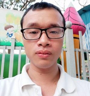 Bị can Lê Anh Tuấn.