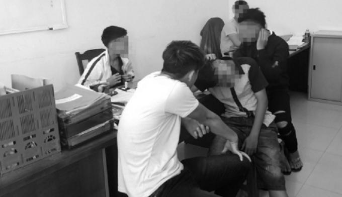 Băng nhóm cướp giật tài sản của du khách tại CQĐT.