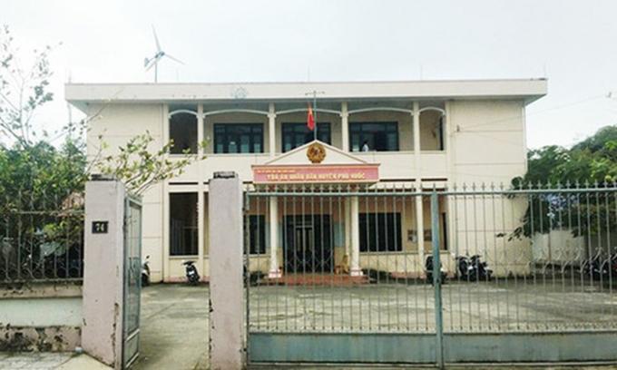 TAND huyện Phú Quốc. (Ảnh: báo Lao động)