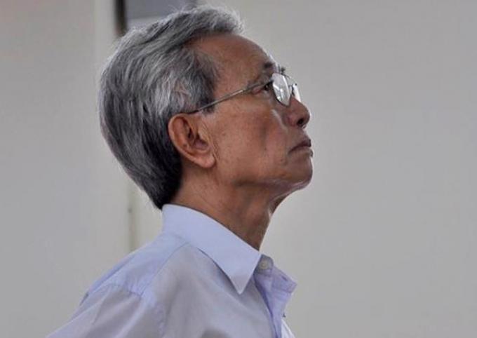 Bị cáo Nguyễn Khắc Thủy.