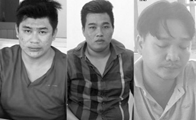 Các đối tượng Tài, Phú và Hùng.