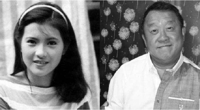 Lam Khiết Anh (thời trẻ) và Tăng Chí Vỹ.