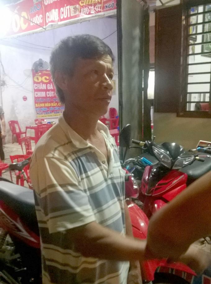 Một trong 3 đối tượng có hành vi ném đá xe khách bị công an thị xã Hồng Lĩnh bắt giữ.