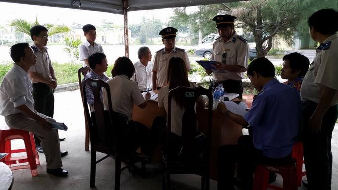Cơ quan Thi hành án dân sự quận Liên Chiểu, Đà Nẵng công bố quyết định cưỡng chế, kê biên. (Ảnh minh họa)