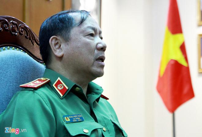 Trung tướng Hoàng Phước Thuận, Cục trưởng Cục An ninh mạng, Bộ Công an. Ảnh: Bá Chiêm.