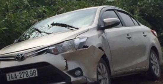 Chiếc xe bị cướp.