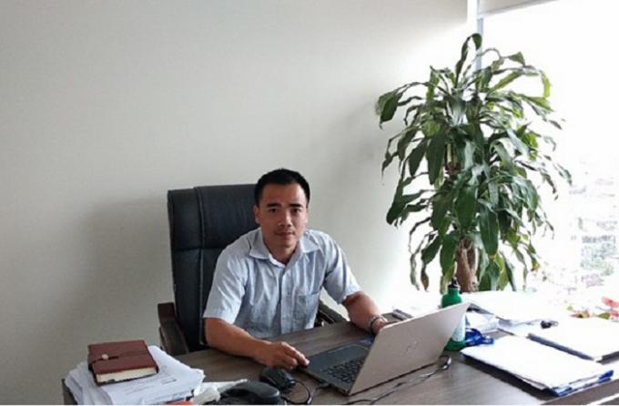 Luật sư Trần Anh Minh.