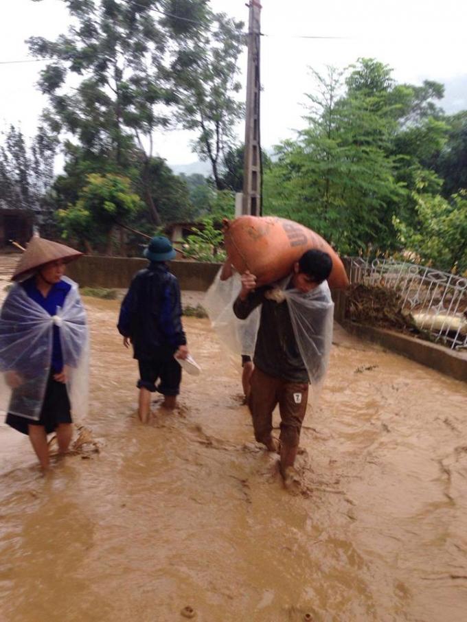 Ước tính thiệt hại do mưa lũ gây ra trong 2 ngày qua ở tỉnh Yên Bái khoảng 10 tỷ đồng.