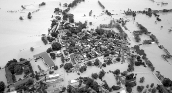 Huyện Chương Mỹ ngập sâu nhiều ngày