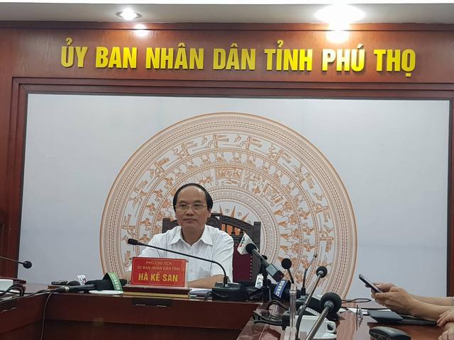 Ông Hà Kế San - Phó Chủ tịch UBND tỉnh Phú Thọ.