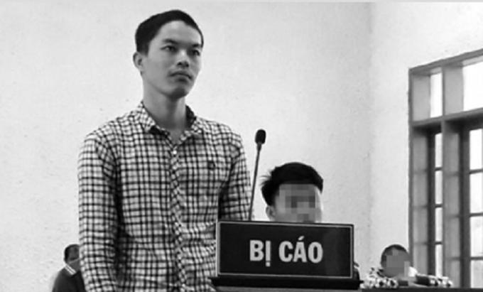 Bị cáo Nguyễn Văn Duy tại phiên tòa xét xử ngày 21/8