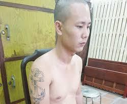 Nguyễn Văn Long khi bị bắt.
