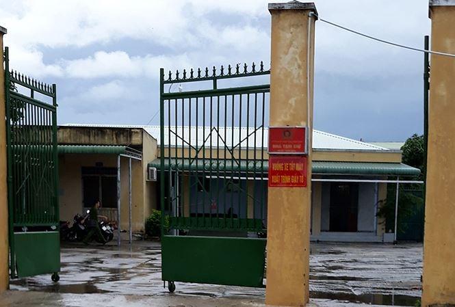 Nhà tạm giữ công an TP Phan Rang - Tháp Chàm. (Ảnh: báo Tiền phong)