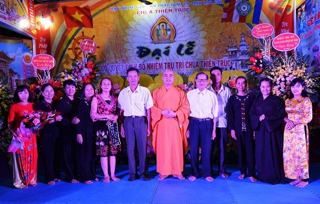 Nhân dịp này, chùa Thiên Trúc đã ra mắt CLB Hương Sen Phật giáo Bảo Thắng.