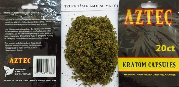 Một số loại ma túy mới xuất hiện tại Việt Nam.