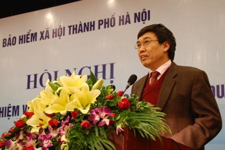 Ông Lê Bạch Hồng. (Ảnh: Bảo hiểm xã hội Việt Nam)