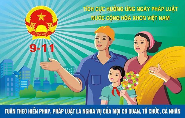 Ngày Pháp luật Việt Nam đang được lan toả, thẩm thấu trong đời sống xã hội