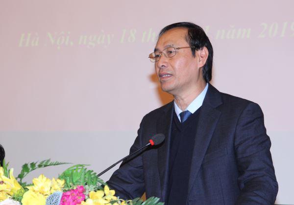 Ông Lê Đình Thọ, Thứ trưởng Bộ giao thông Vận tải phát biểu tại Hội nghị