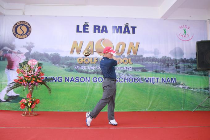 Đến vớiNason Golf School,chúng ta sẽ được gặp những giảng viên kinh nghiệm, nhiệt tình.