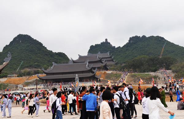 Hà nam tổ chức Lễ hội Xuân tại chùa Tam Chúc