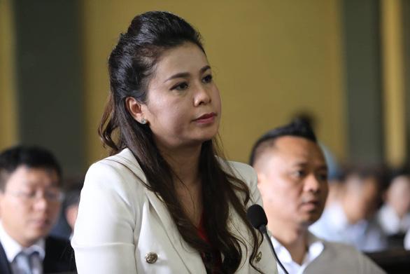 Bà Thảo tại phiên tòa xét xử