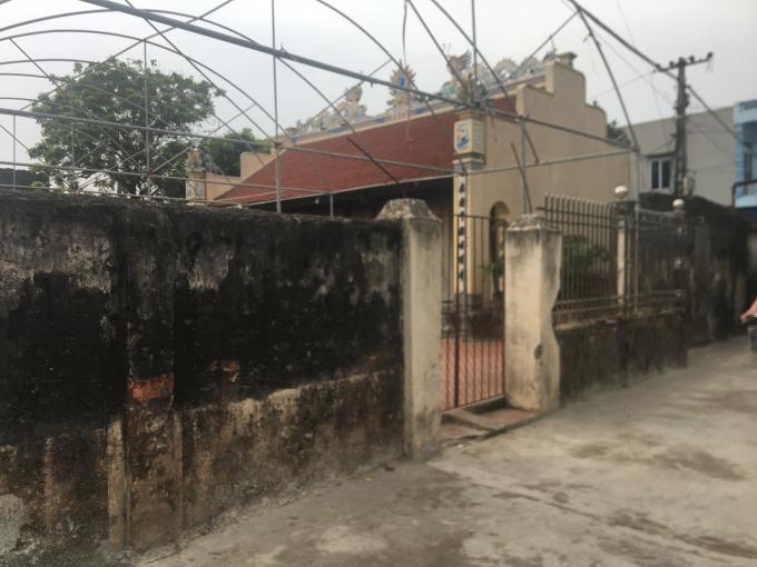 Nhà thờ nơi xảy ra vụ việc tranh chấp khiến bà Lý bị thương.