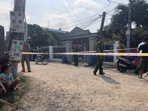 Hiện trường vụ án mạng khiến 3 bà cháu tử vong. (Ảnh: báo Thanh niên)