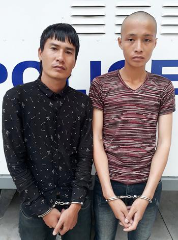 Đối tượng (từ trái qua phải)Nguyễn Văn Soát và Trần Văn Trường.