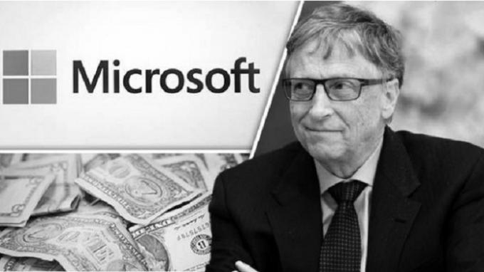 Bill Gates - ông chủ của phần mềm Microsoft.