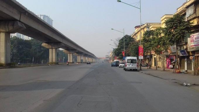 Đường Nguyễn Trãi,Ảnh: Như Trường.