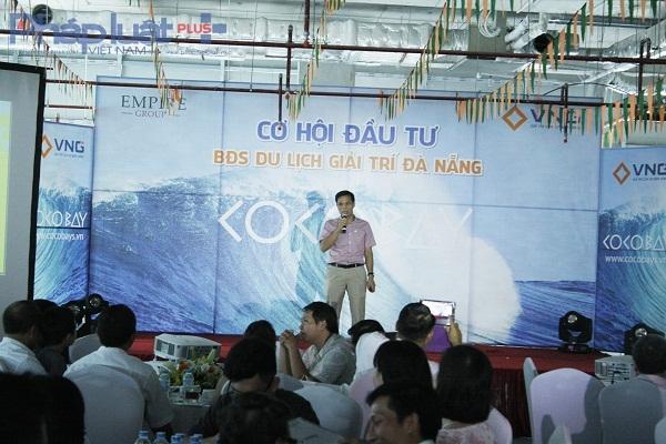 Ông Vũ Văn Thành – TGĐ VNG Việt Nam phát biểu tại buổi lễ.