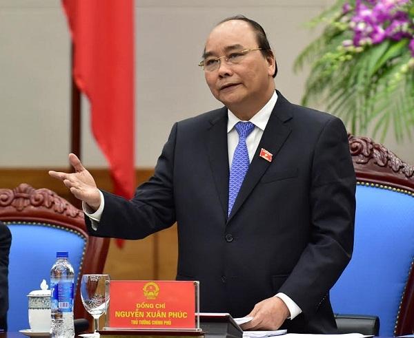 Thủ tướng Nguyễn Xuân Phúc. Ảnh Lam Phương.