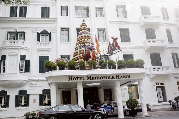 Khách sạn 115 năm tuổi Metropole Hà Nội.