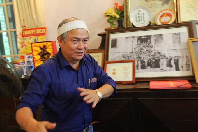 ÔngTrịnh Cần Chính (con trai cụ Trịnh Văn Bô) nói con phố này không xứng đáng được đặt tên cho người thân sinh ra ông.