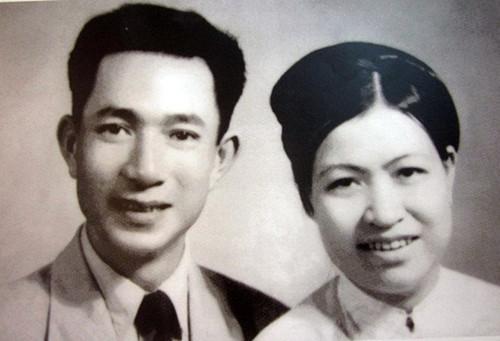 Hai vợ chồng cụ Trịnh Văn Bô và Hoàng Thị Minh Hồ thời còn trẻ. Ảnh internet.