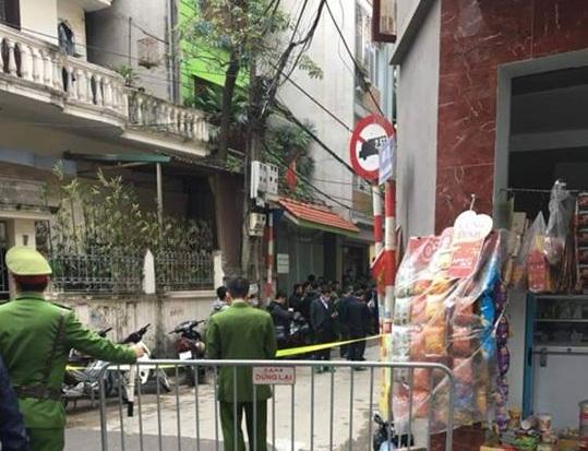 Chiều 3/1, tại ngõ 279, đường Hoàng Mai, quận Hoàng Mai, người dân phát hiện trên địa bàn có một thi thể.
