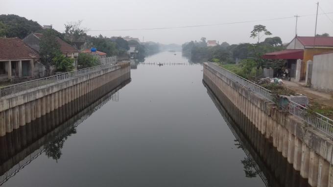 Dự án trạm bơm Nghĩ Xuyên tại xã Thuần Hưng, Khoái Châu, Hưng Yên đã hoàn thành.