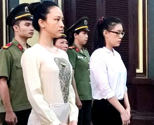 Trương Hồ Phương Nga và Nguyễn Đức Thùy Dung.