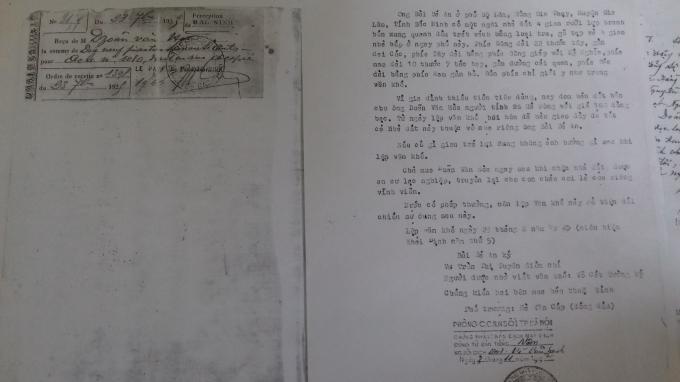 Sau được dịch bản ra tiếng việt thông qua phòng Công chứng số 1 TP Hà Nội.