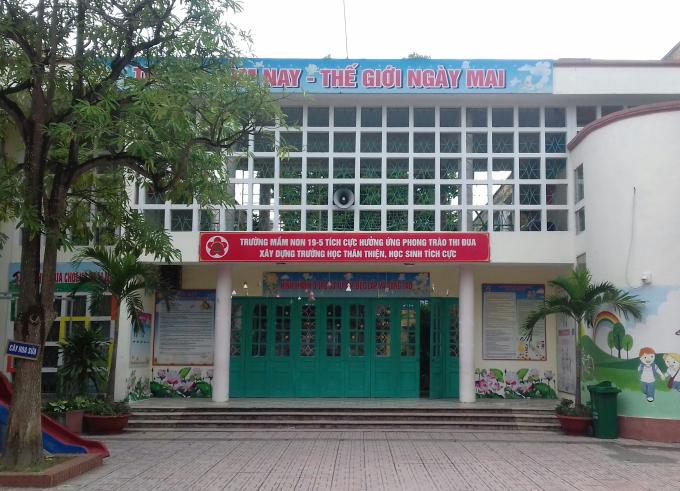 Trường mầm non 19-5 Thành phố Hưng Yên, tỉnh Hưng Yên.