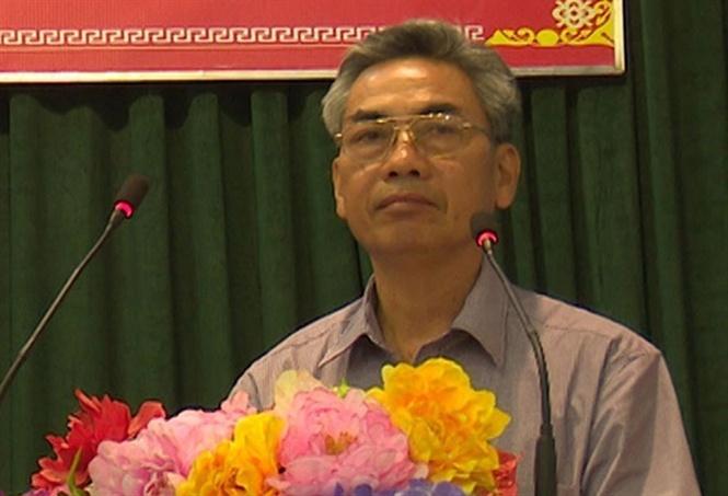 Ông Nguyễn Văn Hòa - Phó Chủ tịchUBND huyện Thanh Thủy.