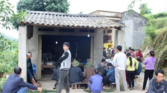 Ngôi nhà nơi xảy ra sự việc. Ảnh Báo Hà Giang.
