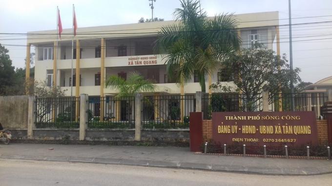 UBND xã Tân Quang, TP Sông Công.